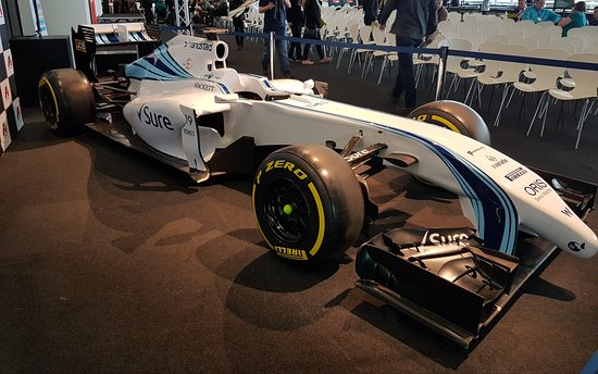 Silverstone, UK: Williams F1 showcar at the event