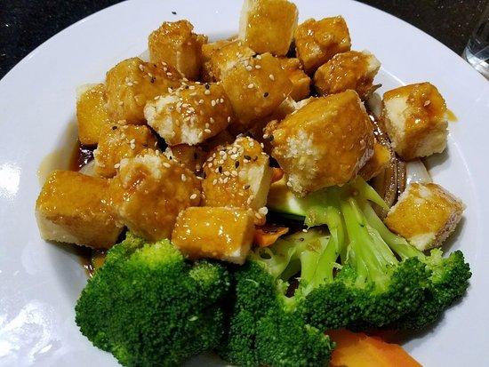 Fuji Sushi: Tofu Teriyaki (tofu was perfect!)