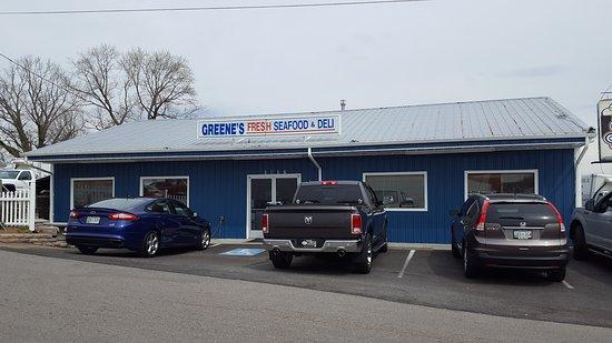 Bristol, VA: Greene's Fresh Seafood & Deli
