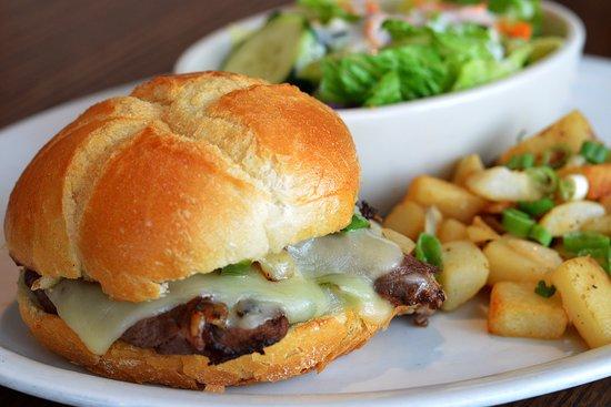 Elmhurst, IL: Prime Rib Sandwich