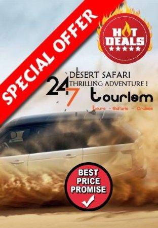 Dubai Desert Safari: 24 7 Tours Safaris