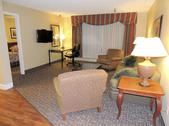 Prospector Hotel : One of our suite seating areas!