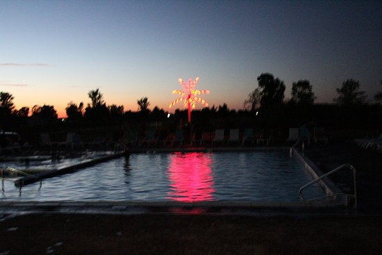 Ionia, MI: Swimming in the dark