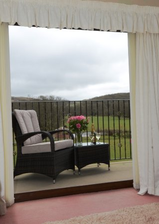 Howey, UK: Bufton Suite Private Balcony