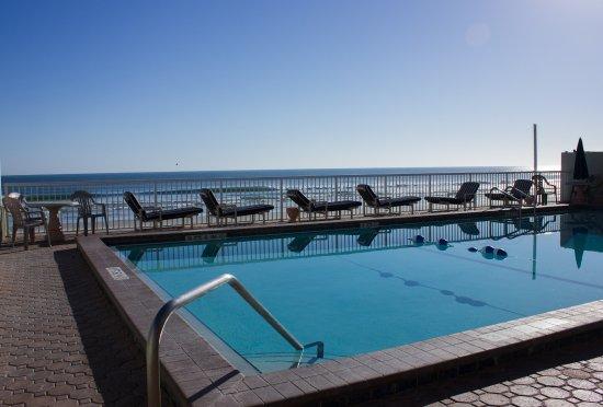 Atlantic Ocean Palm Inn: pool facing the ocean