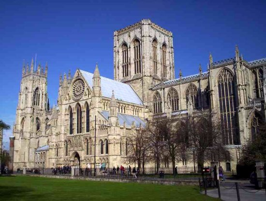 Helmsley, UK: York Minster, Steve is qualifies to give you  personal tour.
