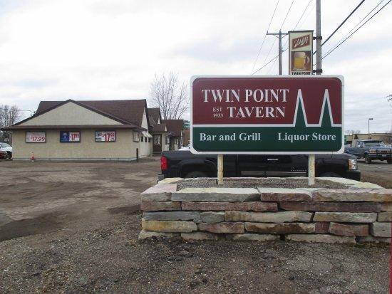 Lake Elmo, MN: Sign onthe highway