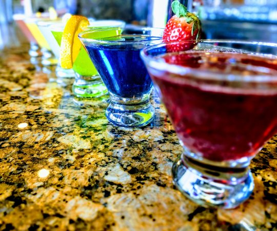 Denville, NJ: Sogo offers a wide variety of hand-crafted cocktails.