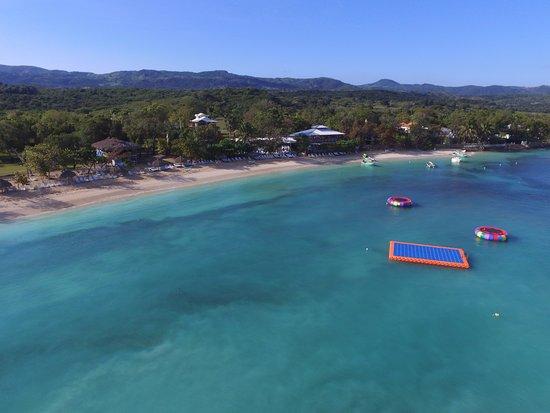 Paradise Island & The Mangroves (Cayo Arena): Playa trampolines Plataforma
