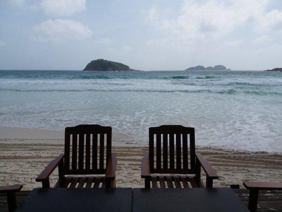 Redang Pelangi Resort: View from bar deck