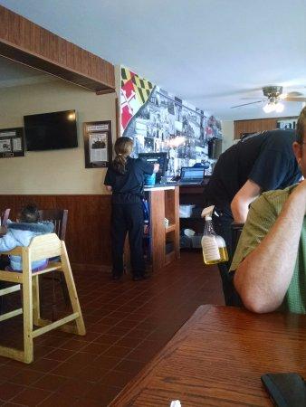 Λα Πλάτα, Μέριλαντ: Marie's Diner.  Recommended by locals, enjoyed by locals & EXCELLENT food!