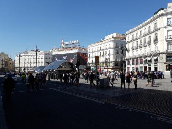 Puerta Del Sol Bullicio Y Compras Picture Of Puerta Del