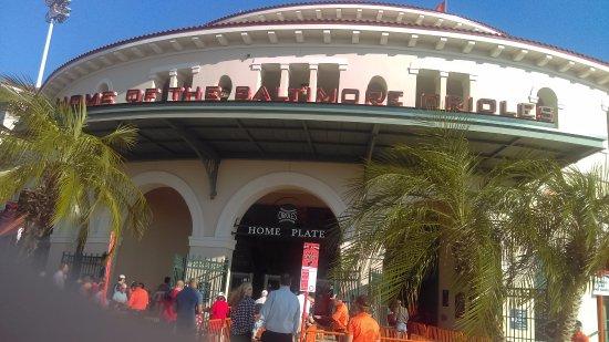 Ruskin, FL: Lots of Spring Training Baseball close by.
