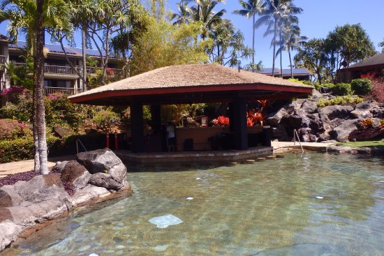 Hanalei Bay Resort: New Pool Bar