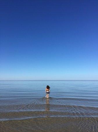 Tofta, Sweden: Guest taking a swim