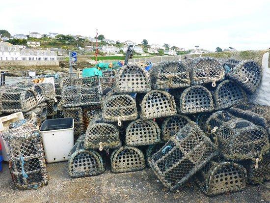 St Mawes, UK: Lobster pots