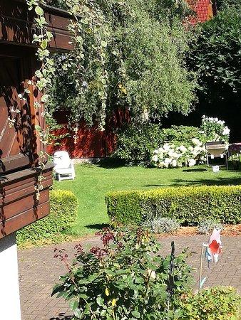 Ruhla, Alemania: Blick auf den Garten
