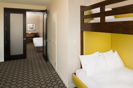 Hyatt Regency Orange County Kid S Suite With Bunk Beds