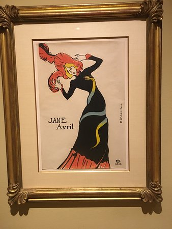 The Phillips Collection: The Jane Avril poster in the Toulouse-Lautrec exhibit