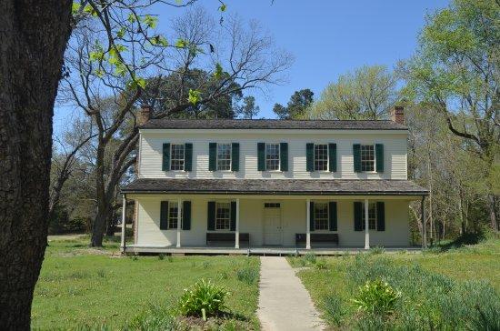 Historic Washington State Park: Block-Catts House