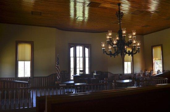 Historic Washington State Park: Vistor's Center/Courthouse