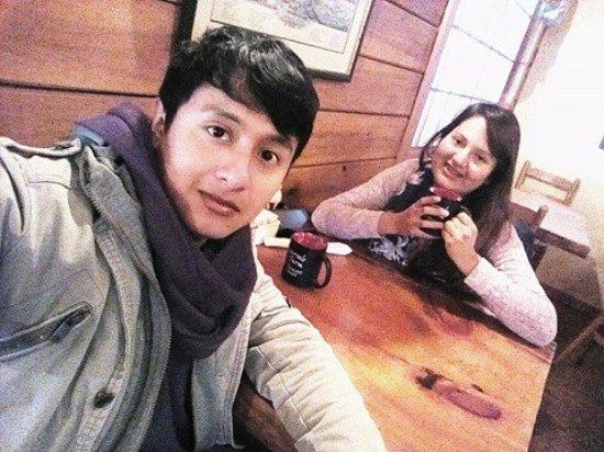 Intervale Pancake House: Con mi amigo especial Dani. (: