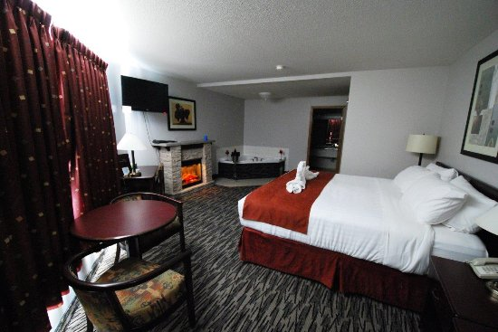 Manitou Beach, Kanada: Jacuzzi King Room