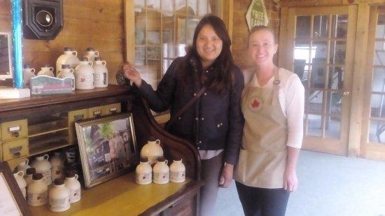 Intervale Pancake House: Olvidé su nombre :( pero es muy linda, se acuerda de los clientes frecuentes ❤