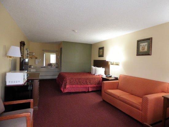 Days Inn Eureka Springs: Single Queen