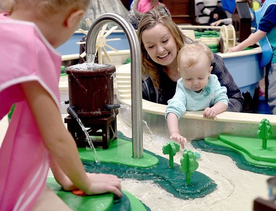 Billings, MT: Wise Wonders is all about hands on learning exhibits! Photo by Hannah Potes