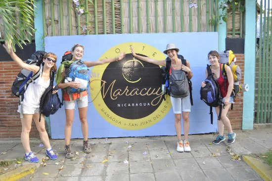 Maracuya Hostel: Happy guests!