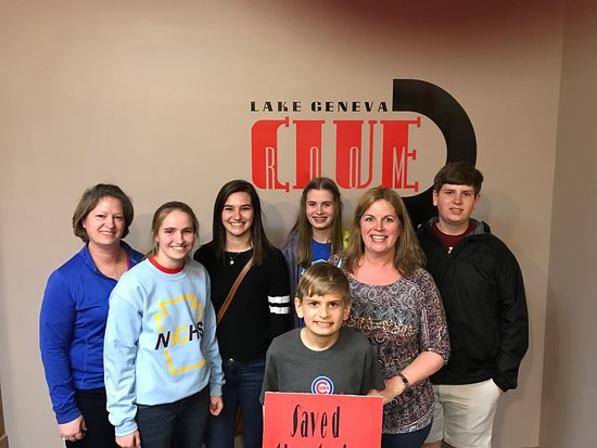 Lake Geneva Clue Room--Escape Room