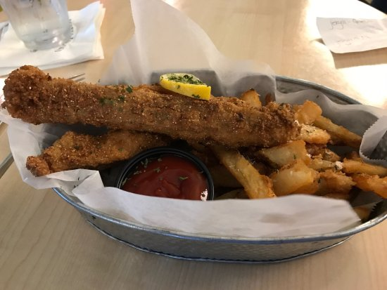 Jekyll Island Seafood Restaurant Cat Fish Fingers