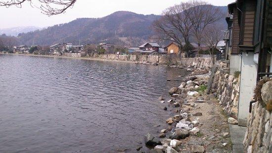 Kaizu Osaki: Stone Walls along Kaizu Beach