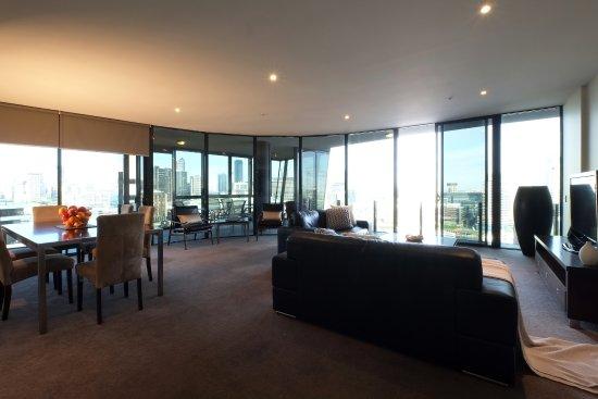 Docklands Prestige Apartments Melbourne Our Sub Living Area