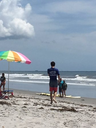a81369eb2b rash guards and sunscreen provided - Picture of Ron Jon Surf School ...