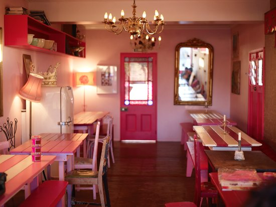 Pipi Cafe: Interior of pipi