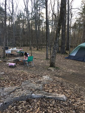 Chapel Hill, TN: Primitive Tent Camp Site