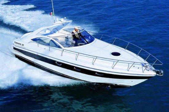 Privat Luksus Cruise i en Pershing 37...