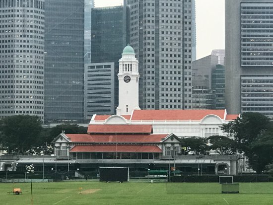 The Residence At Singapore Recreation Club: Looking out from the veranda