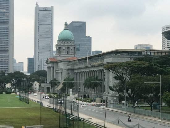 The Residence At Singapore Recreation Club: Looking from the veranda