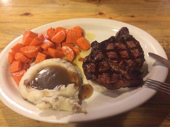 Gunnison, CO: Steak & Potatoes with Carrots