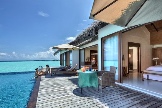 The Residence Maldives: Two Bedroom Water Pool Villa