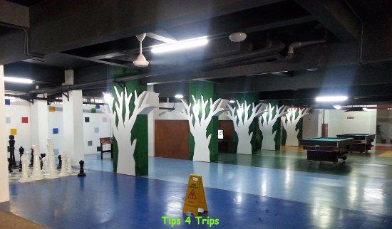 Sanur Paradise Plaza Suites: Camp Splash games room
