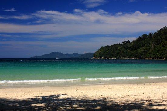 Bunga Raya Island Resort & Spa: beach view BungaRaya Resort