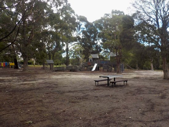 Playground With Picnic Table And Chairs Picture Of Wattle Park - Playground picnic table