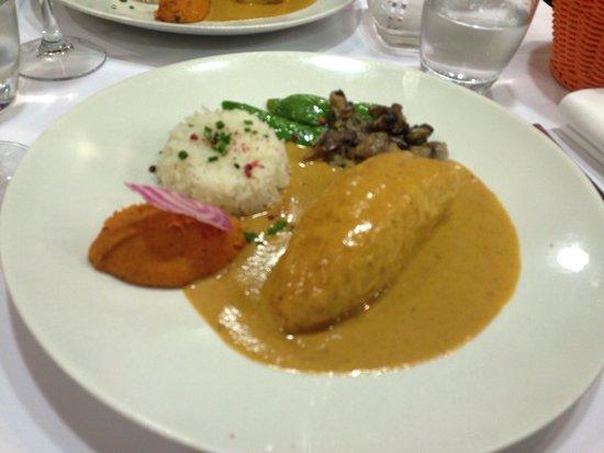 Le Restaurant de Fourviere: Quenelle sauce homard