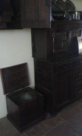 Part of kitchen in Gladstone's Land