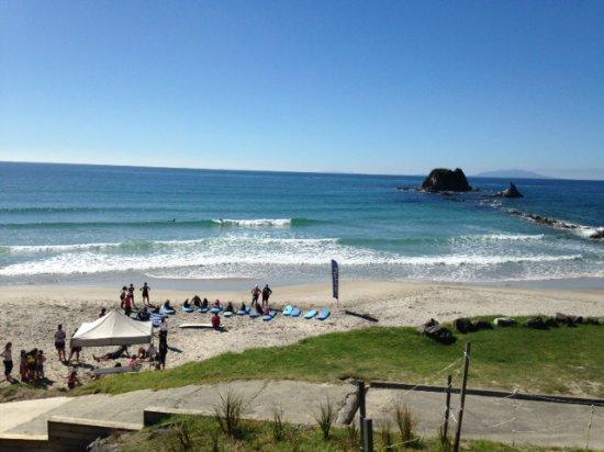 Mangawhai, Nya Zeeland: Surfing lessons