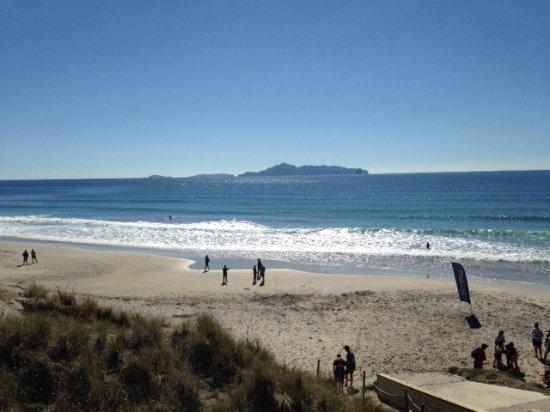 Mangawhai, Nya Zeeland: Out across the bay